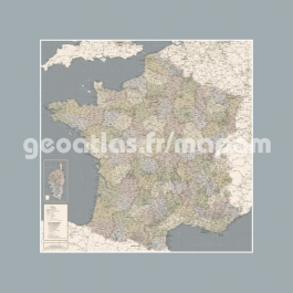 Carte de France Antique